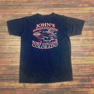 Harley Davidson vintage 90's t shirt size Large